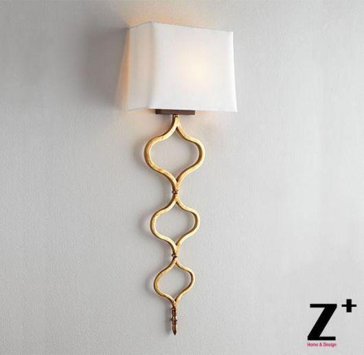 luminária para leitura de parede