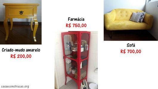 móveis usados e preços