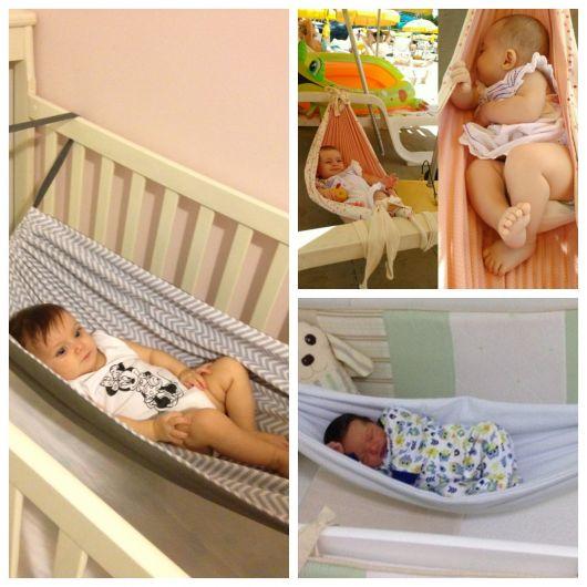 tecido para rede de bebê