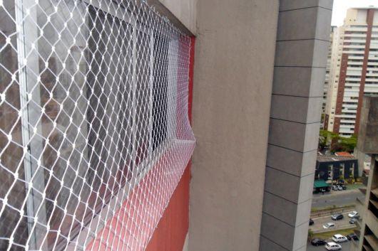rede de proteção para janelas