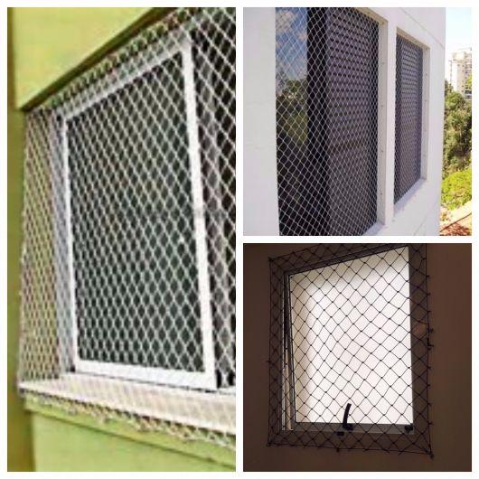 rede para janelas de apartamento