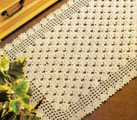 tapetes de entrada feito de crochê