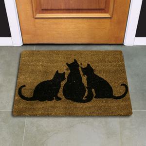 tapetes de entrada dos gatinhos