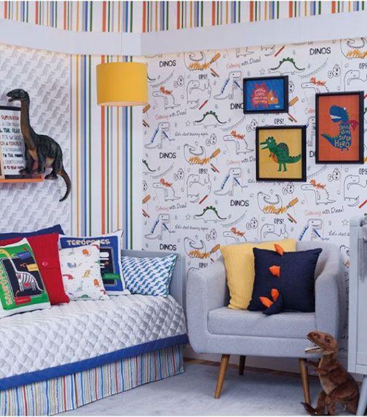 Papel de parede para quarto infantil temas apaixonantes para meninos e meninas - Papel para pared infantil ...