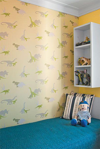 Papel de parede para quarto infantil temas apaixonantes para meninos e meninas - Papel infantil para pared ...