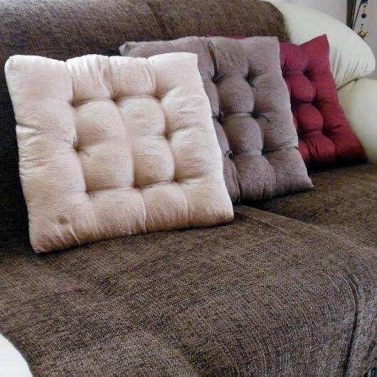 Almofada futon.