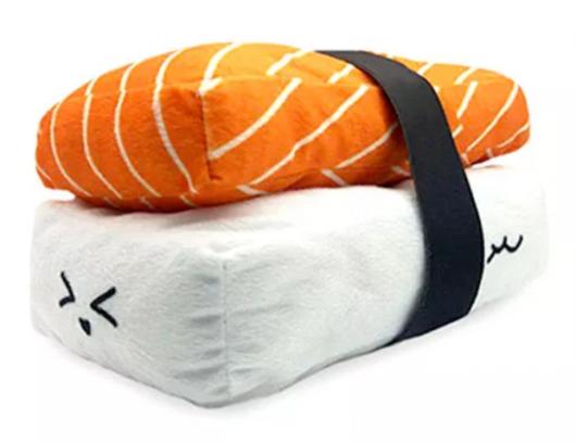 almofadas divertidas sushi niguiri