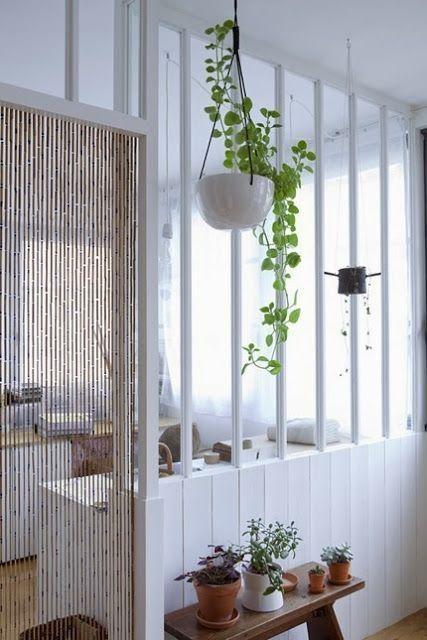 cortina de bambu porta