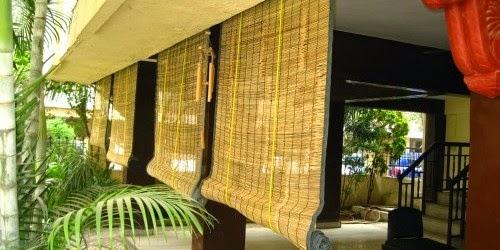 cortina de bambu de enrolar