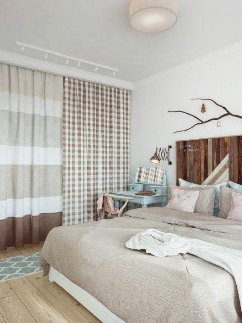 cortinas estampadas decoração