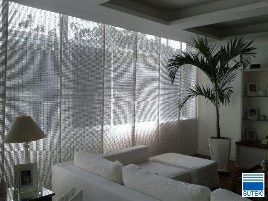 cortinas japonesas brancas