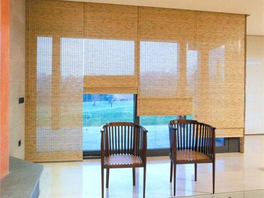 15 cortinas japonesas apaixonantes ideias incr veis para - Cortinas estilo japones ...