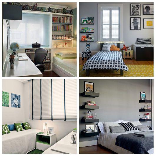 decoração de quarto masculino simples