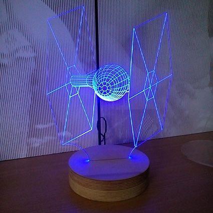 Luminária em 3D.