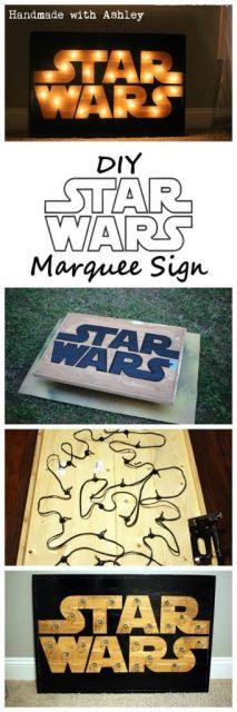 Luminária de Led Star Wars passo a passo.