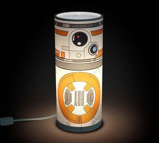 Luminária Star Wars de led.
