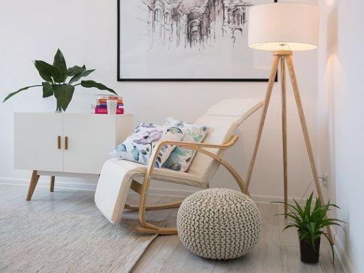 poltrona reclinável moderna