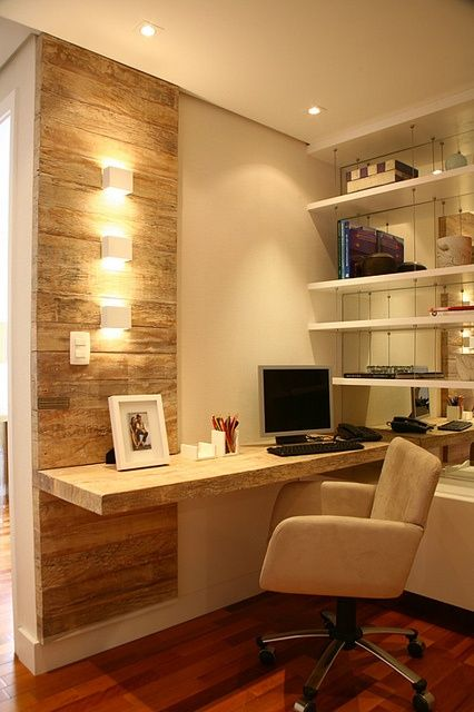 home office com poltrona