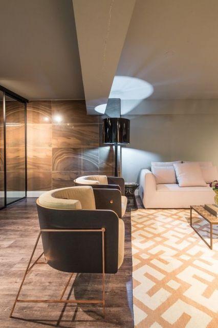 poltrona moderna sala