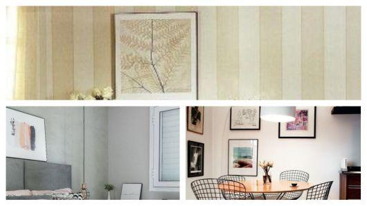 Diversos quadros minimalistas.