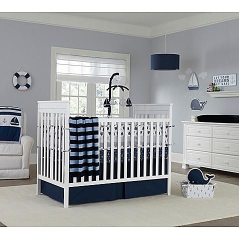quarto de bebê marinheiro clean
