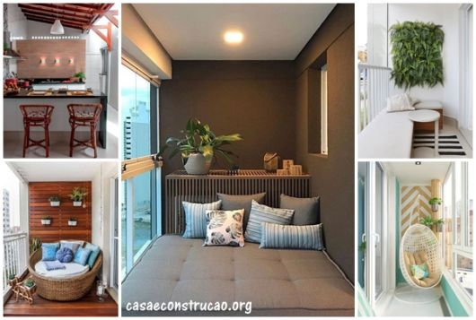 Decoraç u00e3o de Varanda Pequena u2013 Como Deixar sua Varanda Incrível! # Decoração Para Varanda De Apartamento Simples