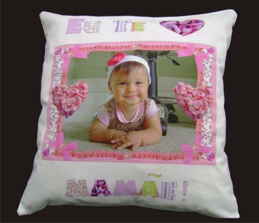 almofada infantil com foto