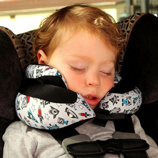 almofada infantil para usar no carro