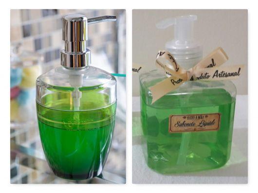 como fazer sabonete líquido de erva doce.