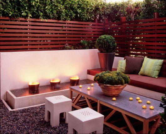 decoração com plantas para jardim