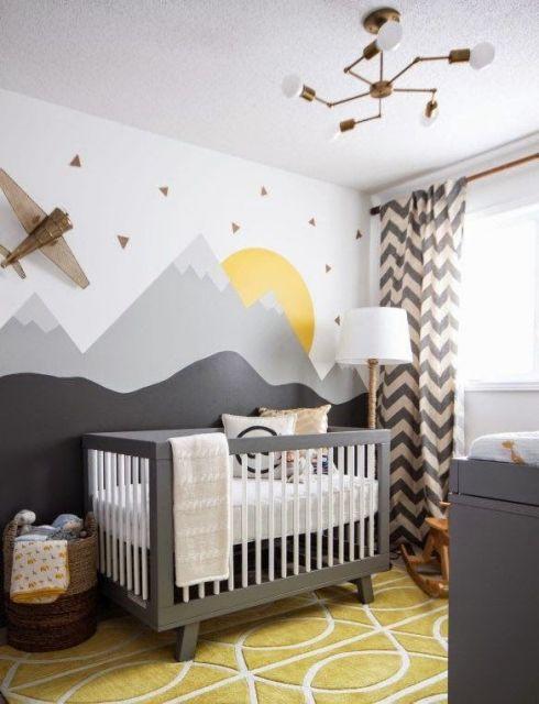 projetos de quarto de bebê unissex