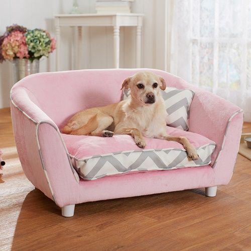 Sofá para cachorro.