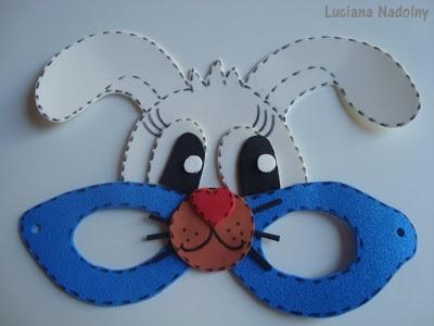 modelo de máscara