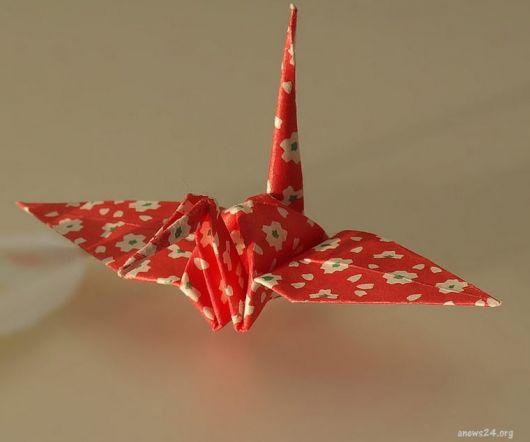 origami papel estampado