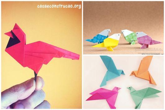 modelos de passarinho