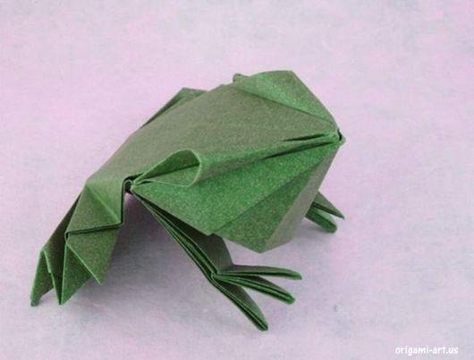 sapo de origami