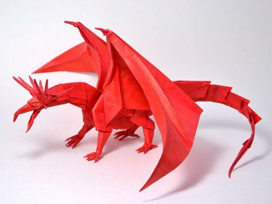 dragão com asas