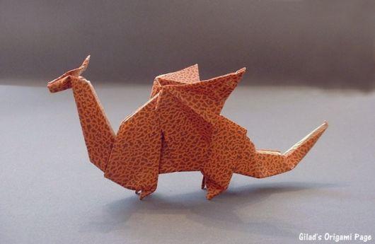 modelo de dragão