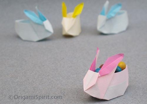 origami páscoa