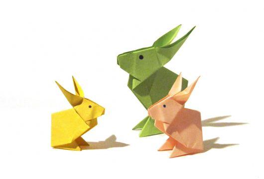 coelho de origami