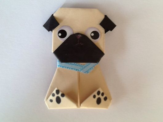 cachorro de origami