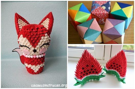 ideias de origami em 3D