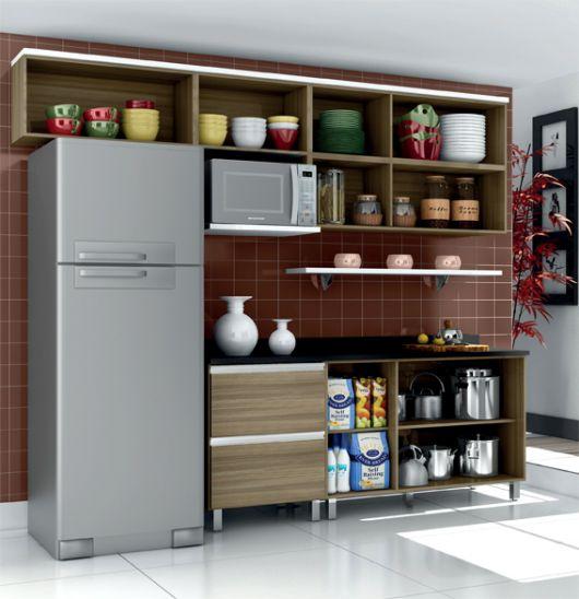 Como organizar arm rio de cozinha as 60 melhores dicas - Como organizar armarios ...