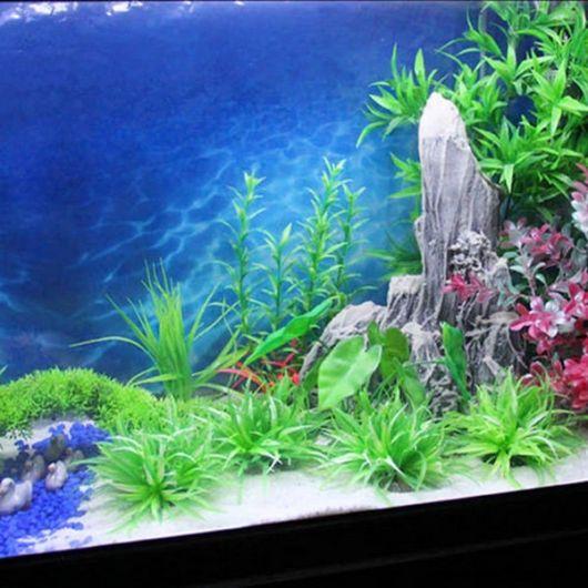 Painel para aquário.