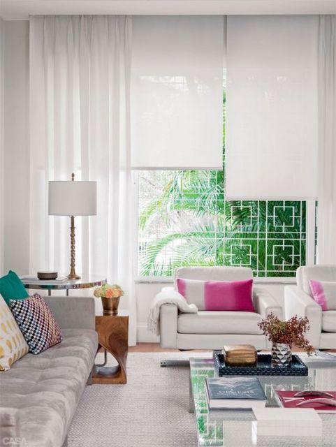 modelo de cortina para sala