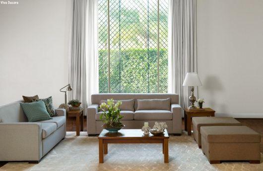 janela  com grade sala