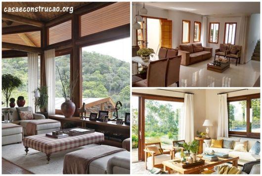 modelos de janela de madeira