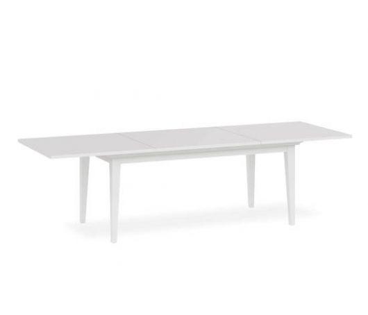 Mesa de jantar branca.