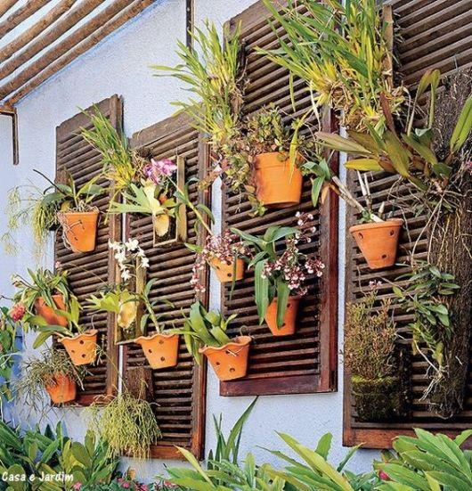 parede com orquídeas