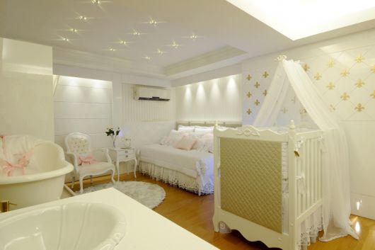quarto sofisticado bebê